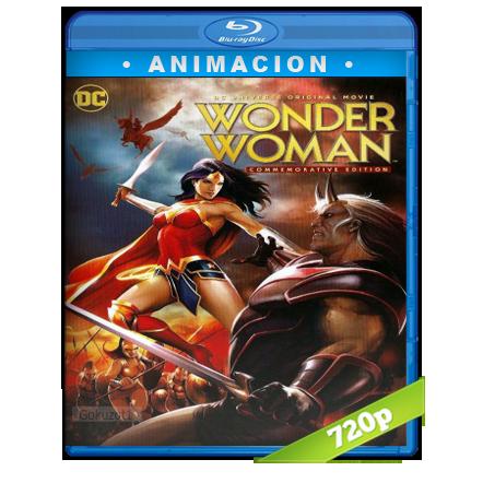 descargar La Mujer Maravilla 720p Lat-Cast-Ing[Animacion](2009) gratis