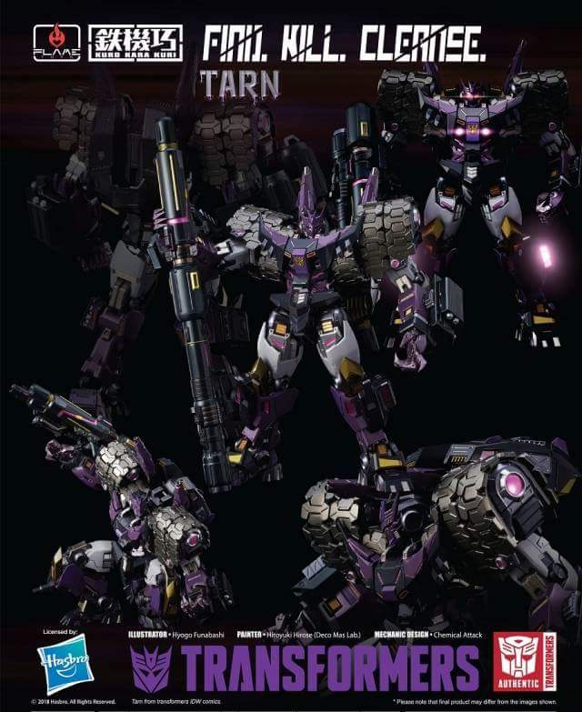 [Flame Toys] Figurines Drift, Optimus, Tarn, Star Saber, etc (non transformable - autorisé par Hasbro) - Page 2 MTPeXKdA_o