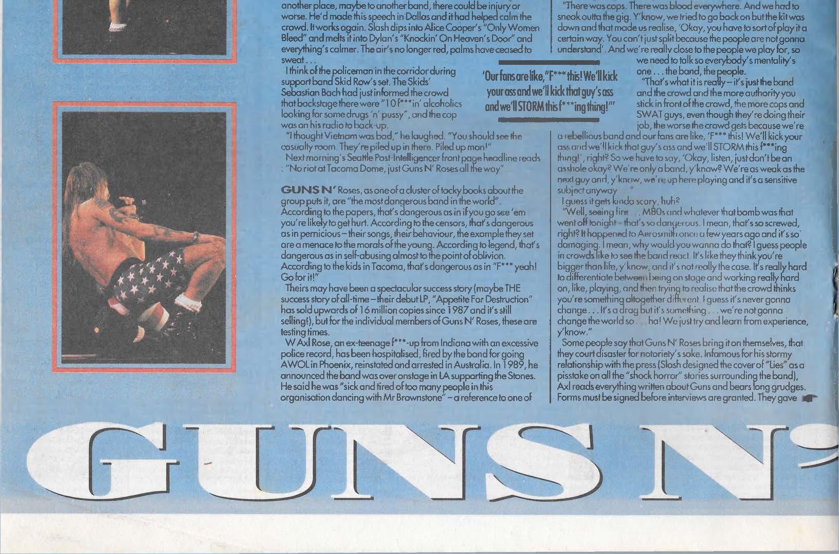 1991.08.03 - Melody Maker - White riot! (Slash) U9oTMDX1_o