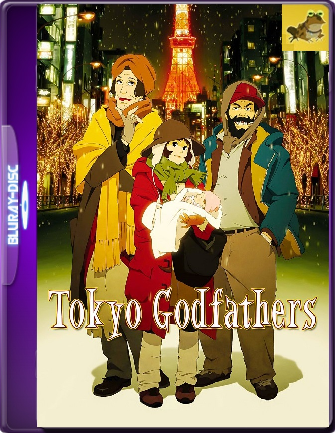 Tokyo Godfathers (2003) Brrip 1080p (60 FPS) Latino / Japonés