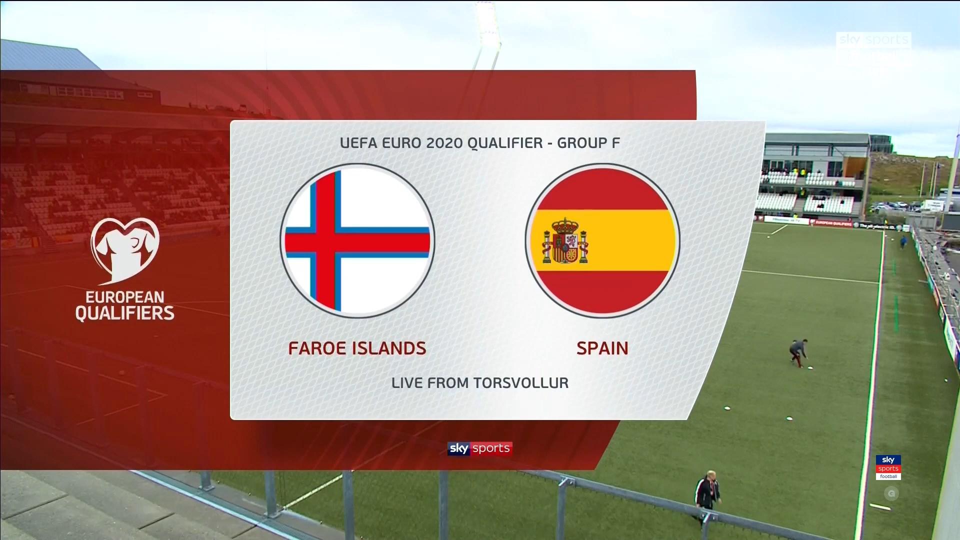 Xem lại: Quần đảo Faroe vs Tây Ban Nha