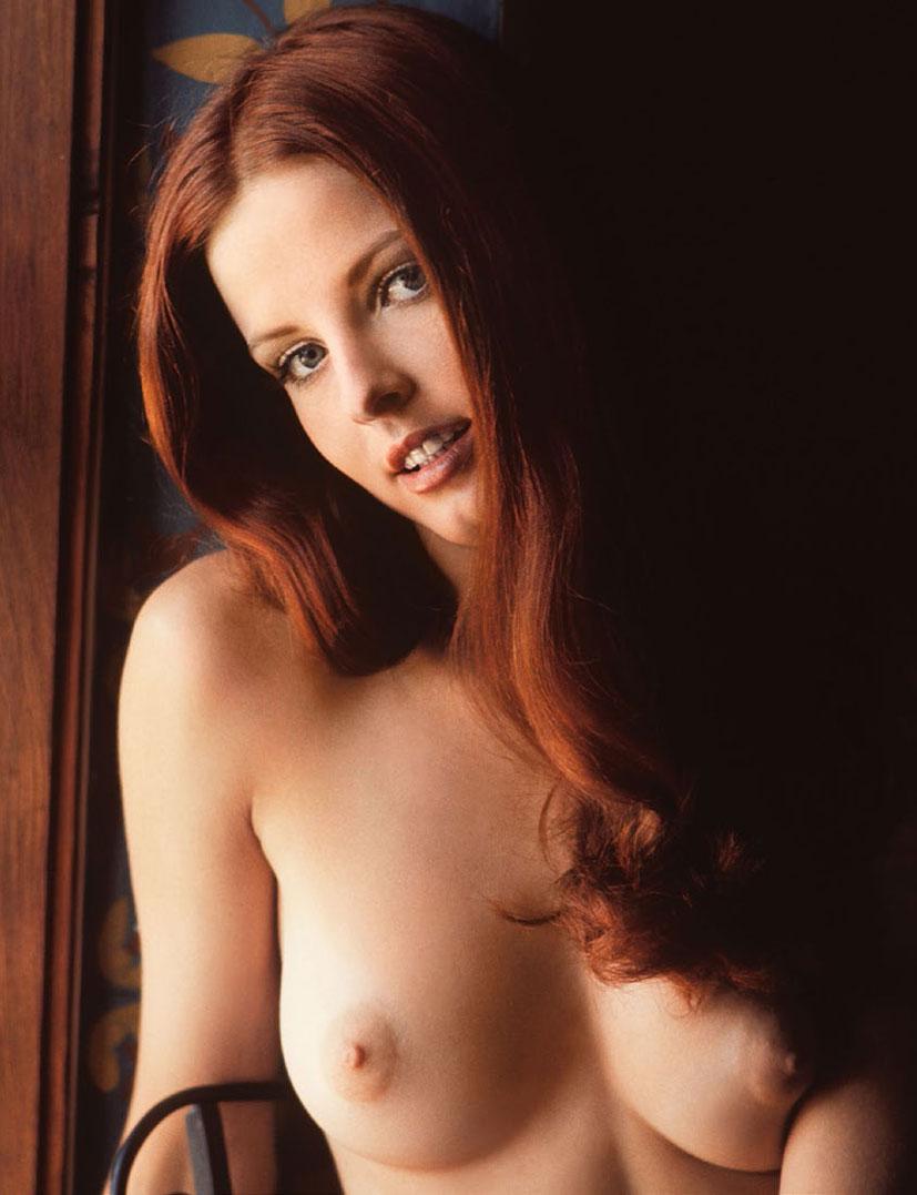 рыжие сексуальные красавицы в журнале Playboy - Deanna Baker