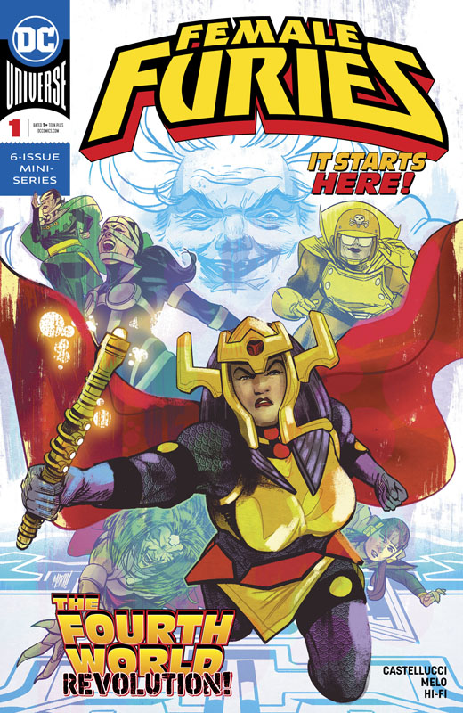 Female Furies #1-6 (2019) Complete