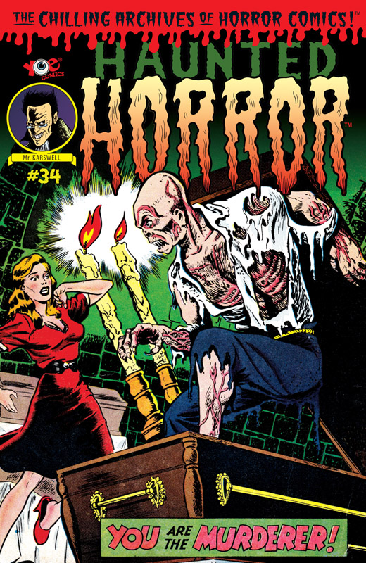 Haunted Horror #1-35 (2012-2018)
