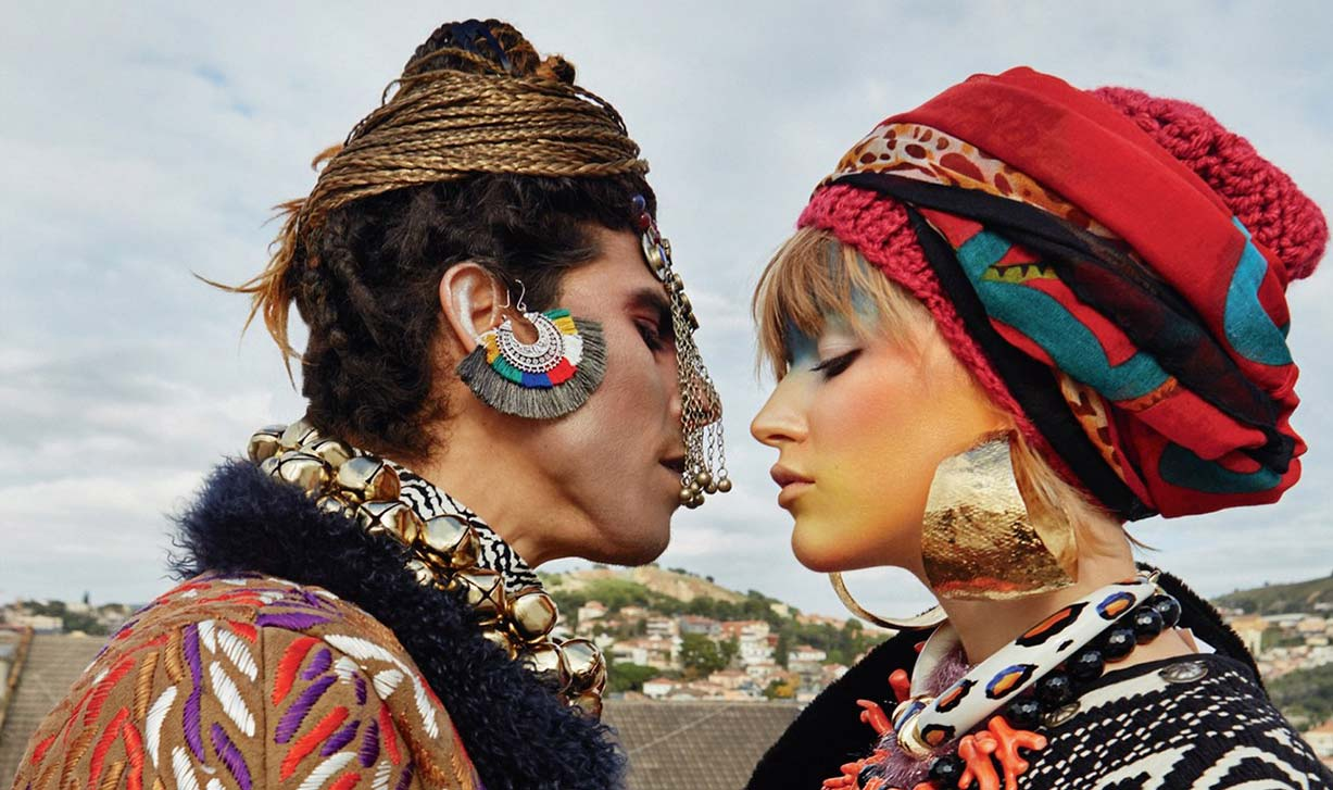 Urban Shamans / Daisy Freyja and Pablo DLacosta by Julia Buruleva