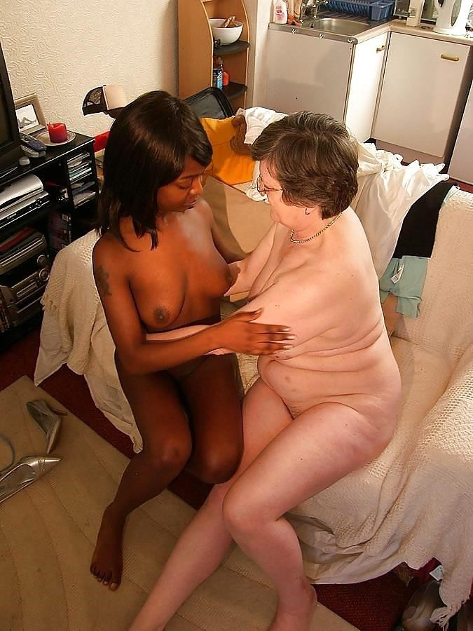 Old white guy young black girl-7650