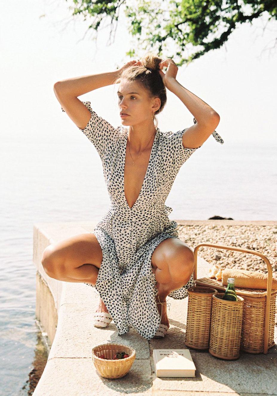 Отдыхаем на пляжах Хорватии с фотомоделью Мэдисон Хедрик / фото 03