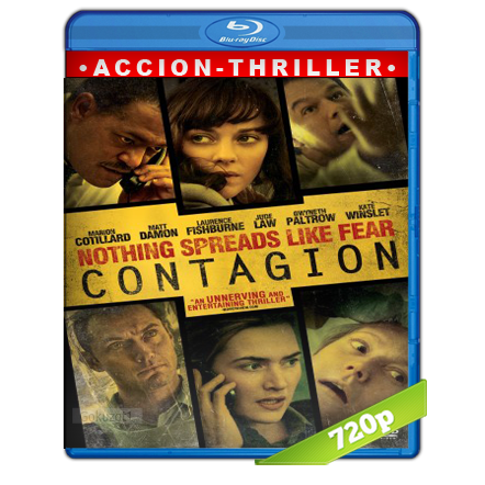 descargar Contagio [m720p][Trial Lat/Cas/Ing][Thriller](2011) gartis