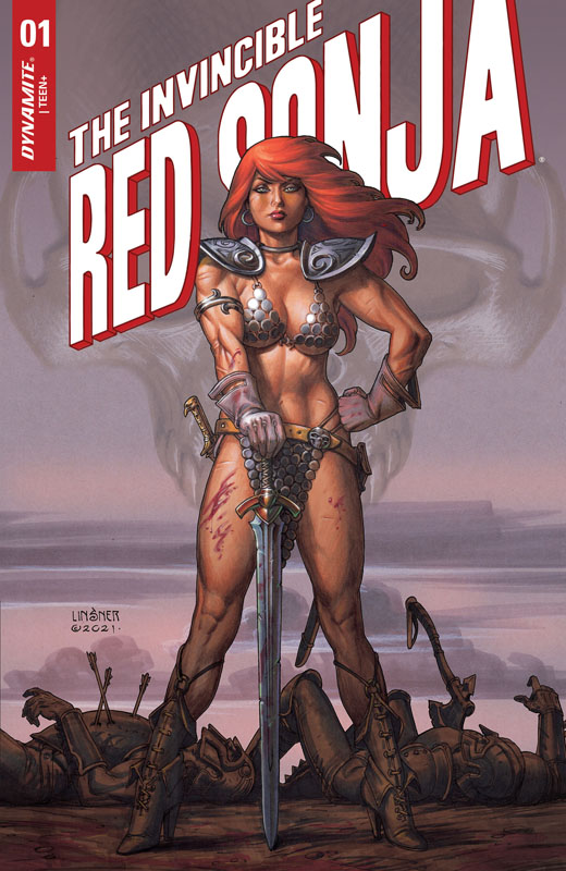 The Invincible Red Sonja 001 (2021)