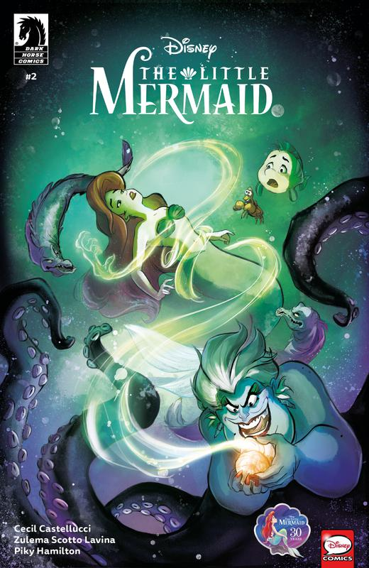The Little Mermaid #1-3 (2019-2020) Complete