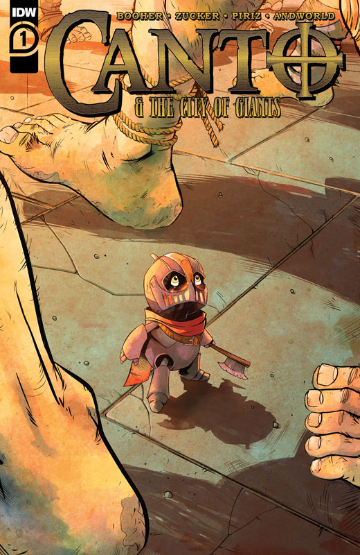 Canto & The City of Giants #1-3 (2021)