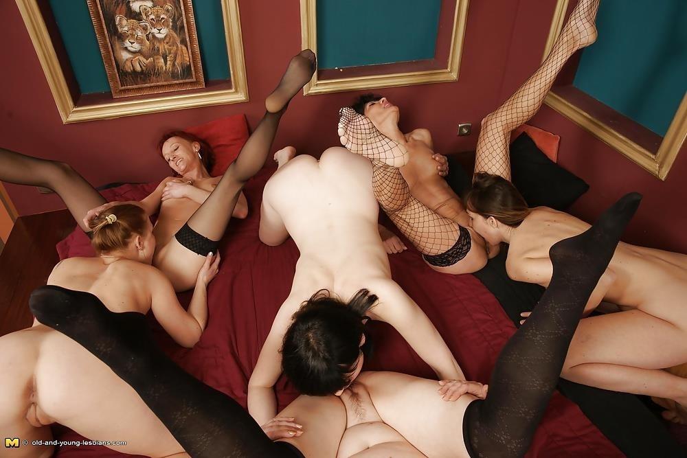 Vintage group orgy-6904