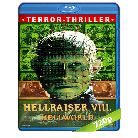 Hellraiser 8 Infierno.com (2005) BRRip 720p Audio Dual Latino-Ingles 5.1