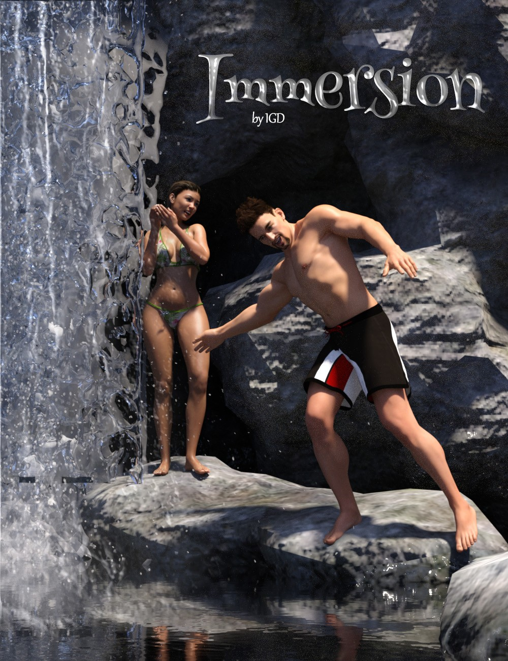 IGD Immersion Poses for Genesis 3