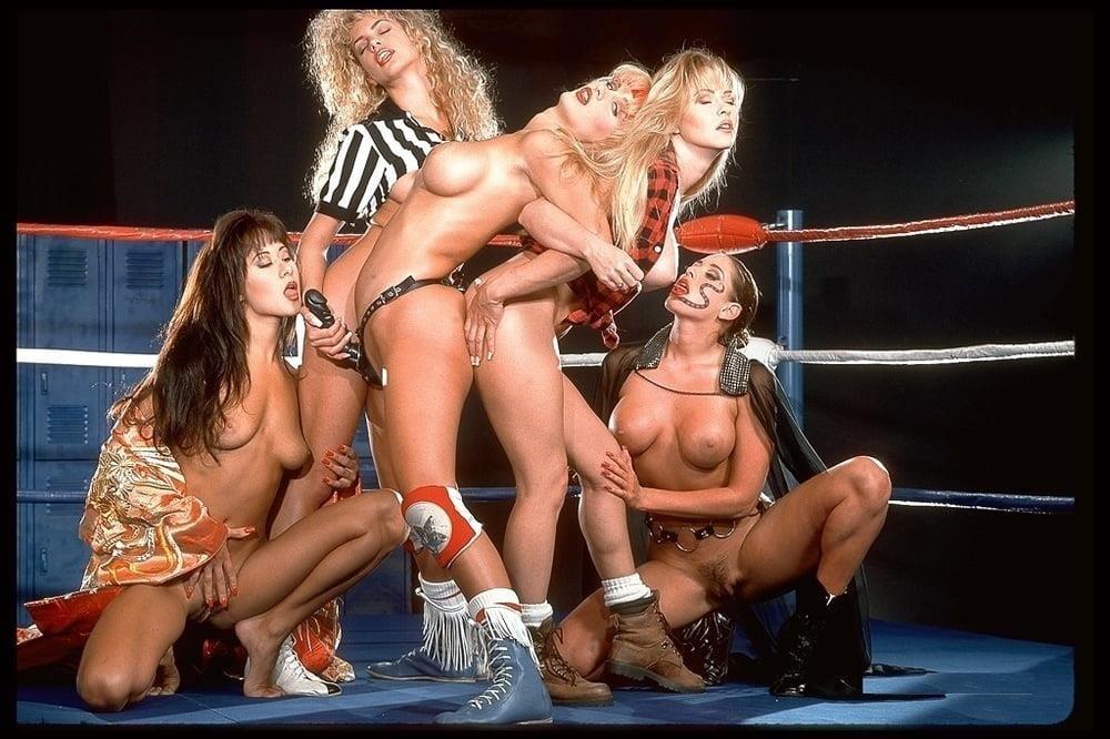 Lesbian strapon wrestling-7361