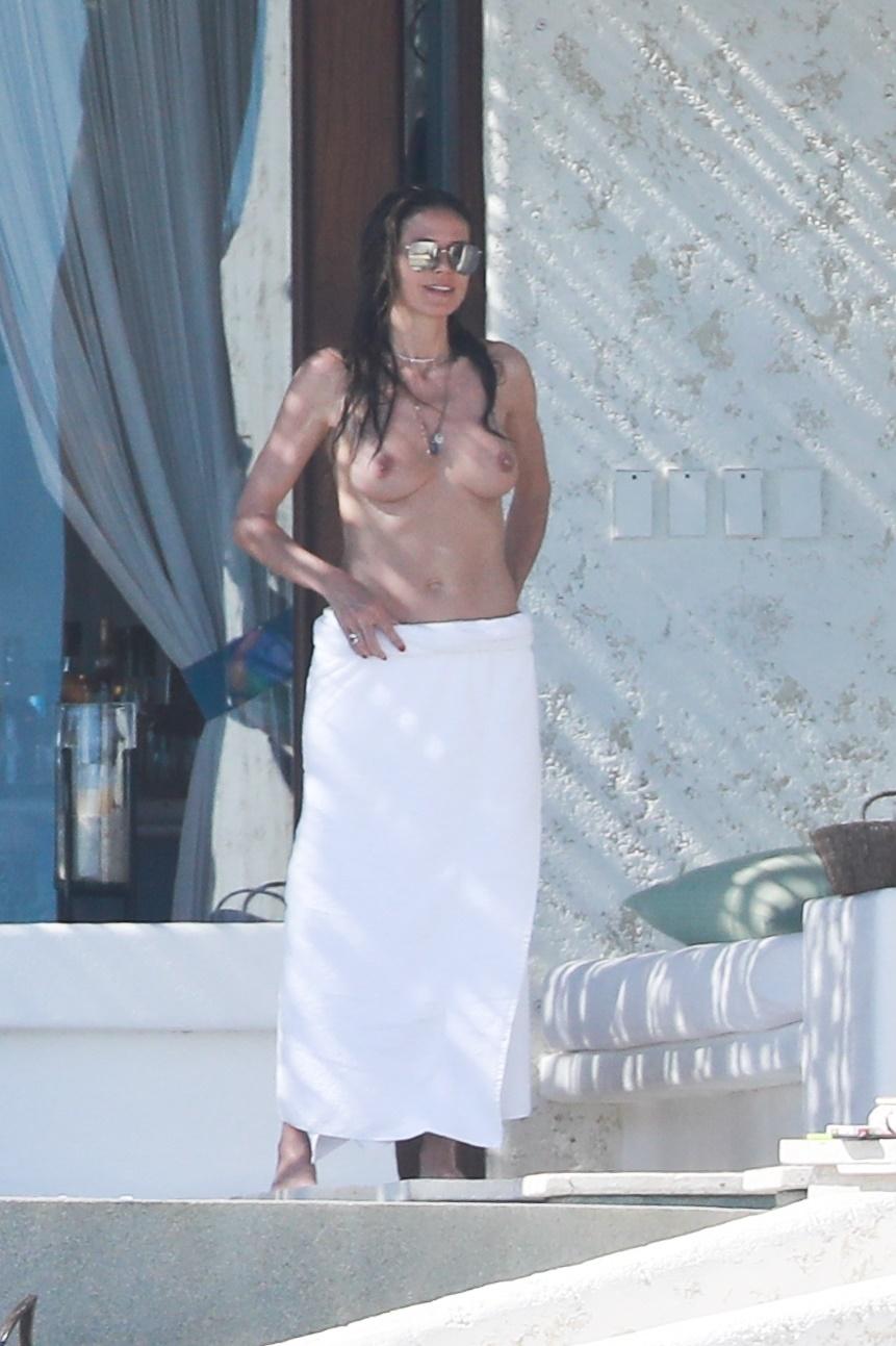 Heidi Klum Topless in Cabo San Lucas, Mexico – 4/8/18
