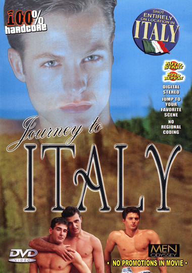 Journey To Italy / Путешествие в Италию (Lucas Kazan, Men of Odyssey) [1997 г., Muscles, Oral/Anal Sex, Outdoors, Blowjob, Rimming, Threesomes, Cumshots, DVDRip]