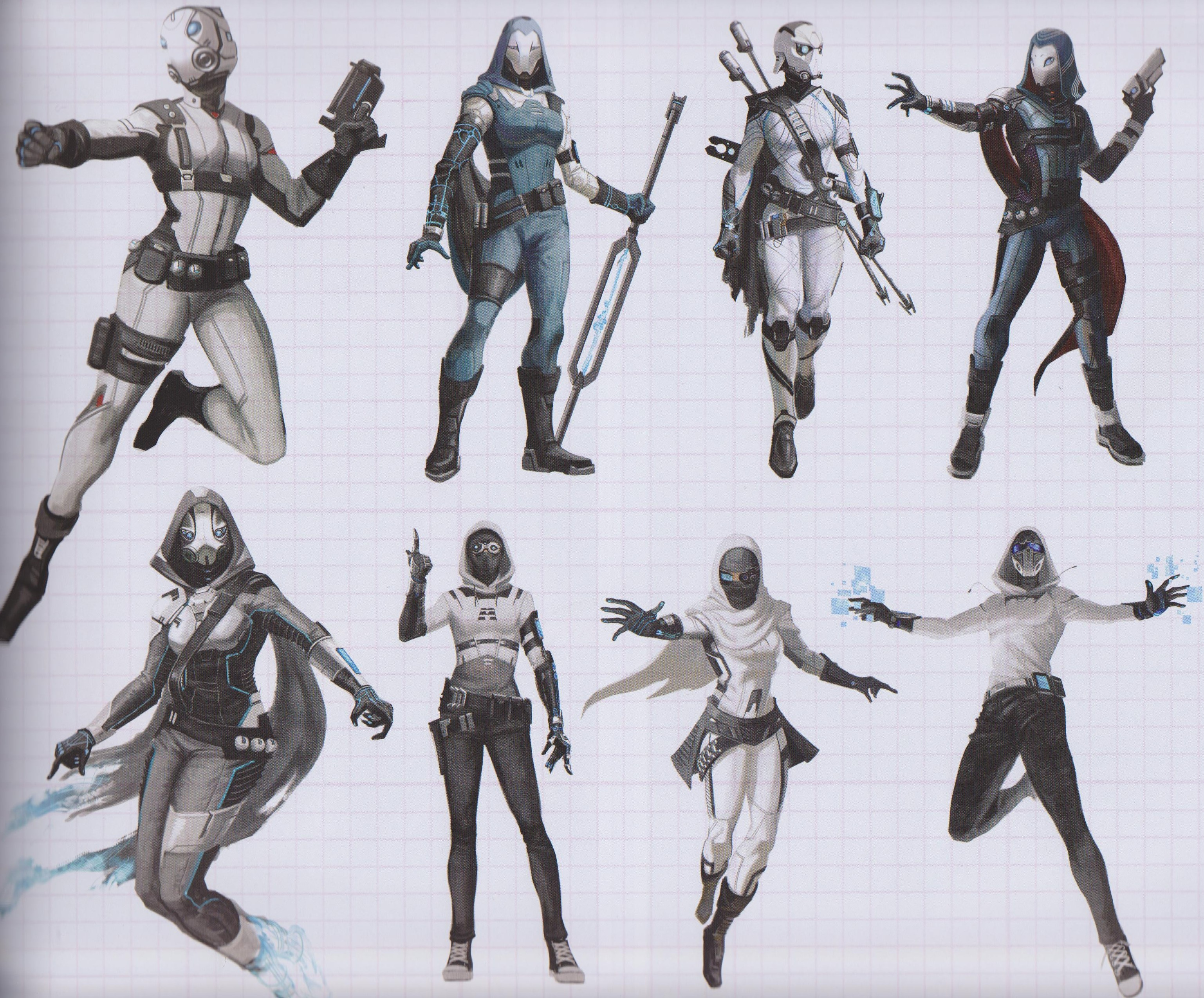 Ant Man And The Wasp Ghost Concept Art Reveals Comic
