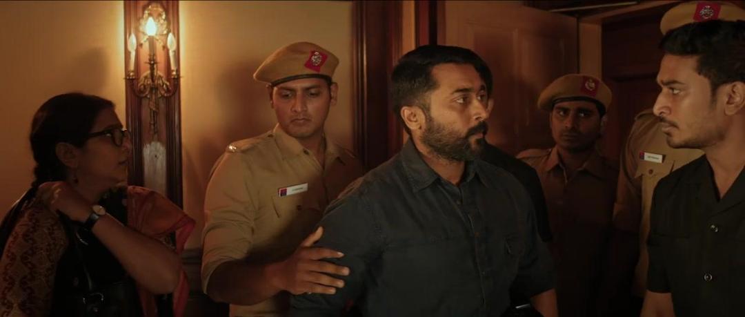 Soorarai Pottru (2020) 720p HDRip x264 [Multi Audio][Telugu+Tamil+Mal+Kan]
