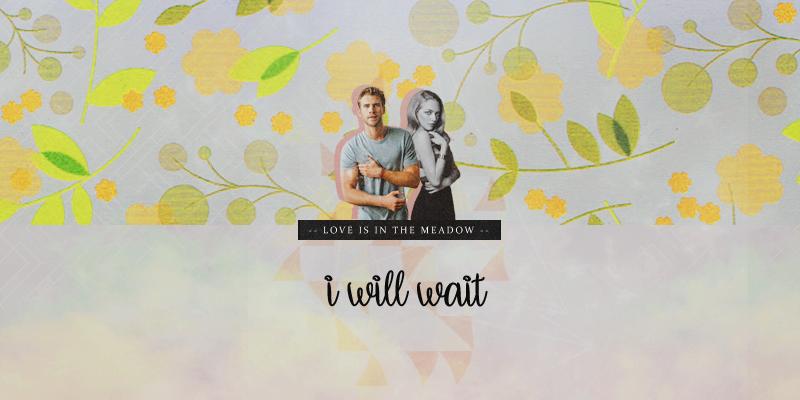 - i will wait ♡