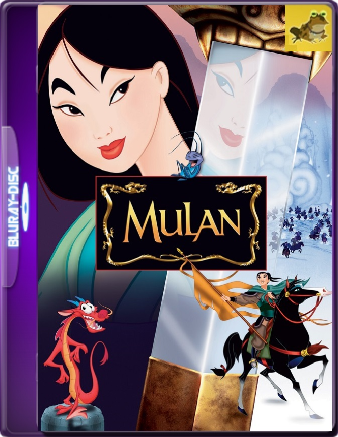 Mulan (1998) Brrip 1080p (60 FPS) Latino