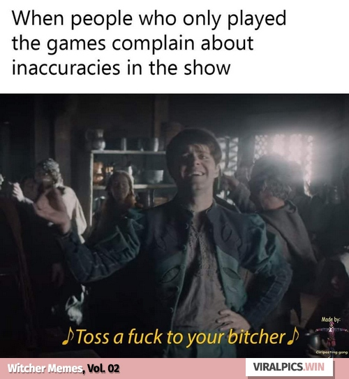 30+ The Witcher Netflix Funny Memes for True Fan of the Game & Show 2