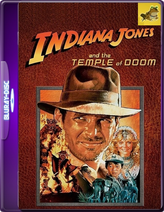 Indiana Jones y El Templo De La Perdición (1984) Brrip 1080p (60 FPS) Latino / Inglés