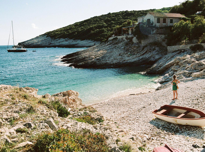 Отдыхаем на пляжах Хорватии с фотомоделью Мэдисон Хедрик / фото 27
