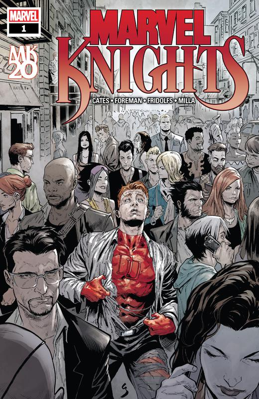 Marvel Knights - 20th #1-6 (2019) Complete