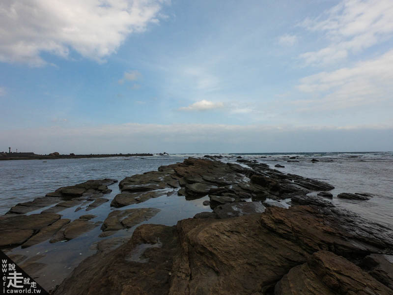 沿海步道風景