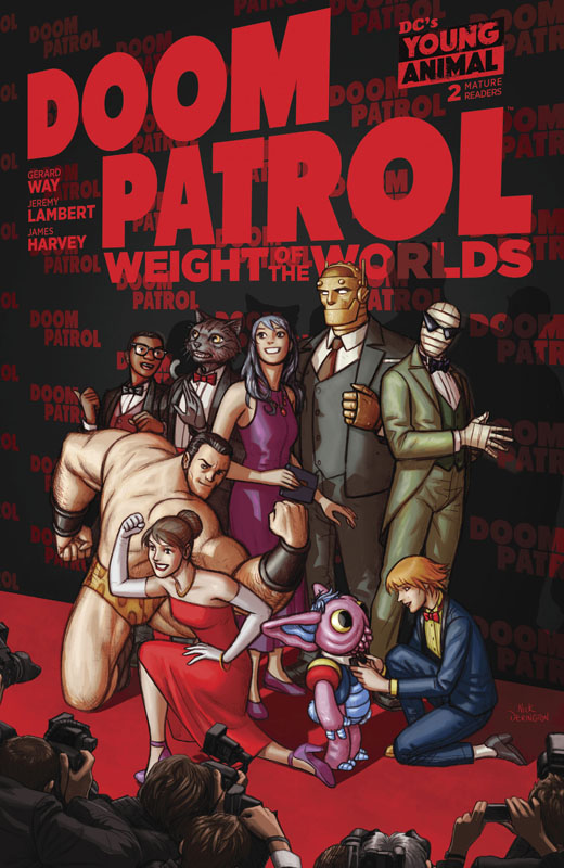 Doom Patrol - Weight of the Worlds #1-2 (2019)