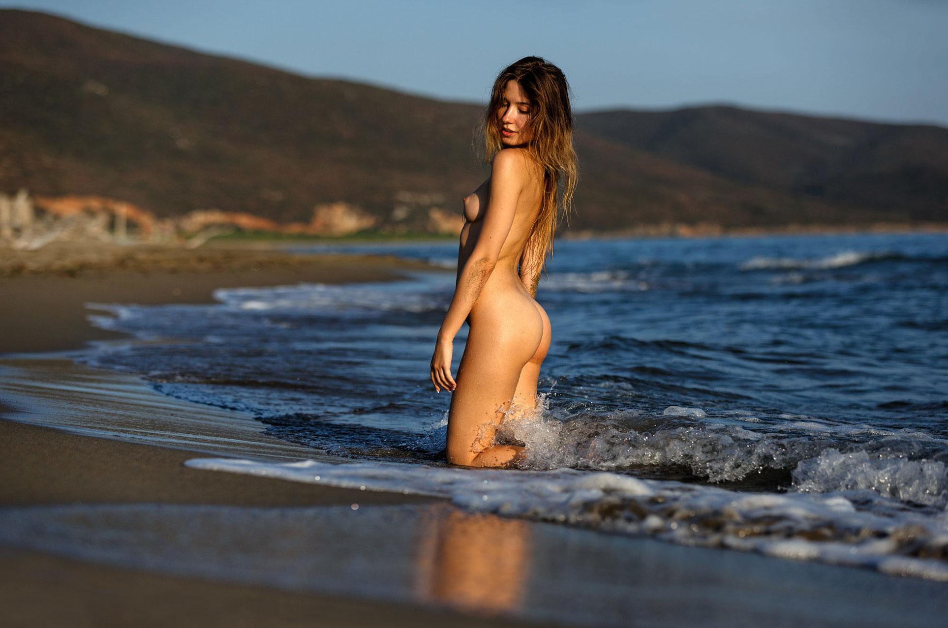 подборка фотографий сексуальных голых девушек - Ксения Кюфельд / Ksenia Kufeld
