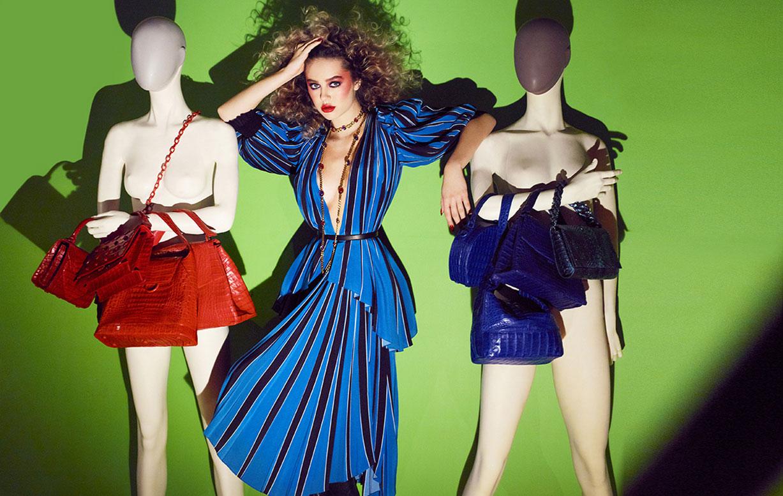 Делайла Белле и модные манекены, фотограф Энрике Вега / фото 11