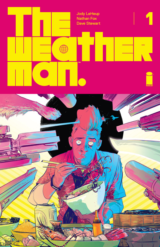 The Weatherman #1-6 (2018) Complete