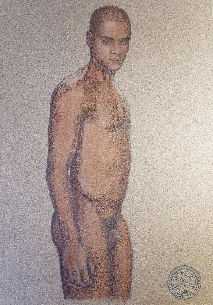 How to draw male nude-5877