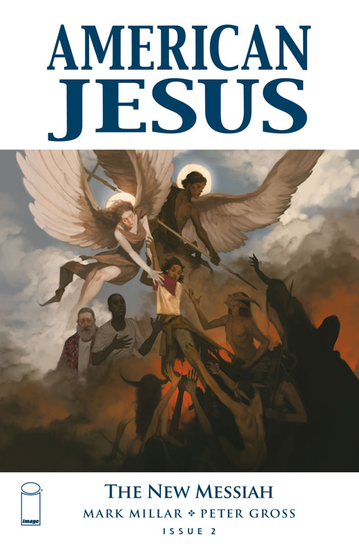 American Jesus - The New Messiah #1-3 (2019-2020) Complete