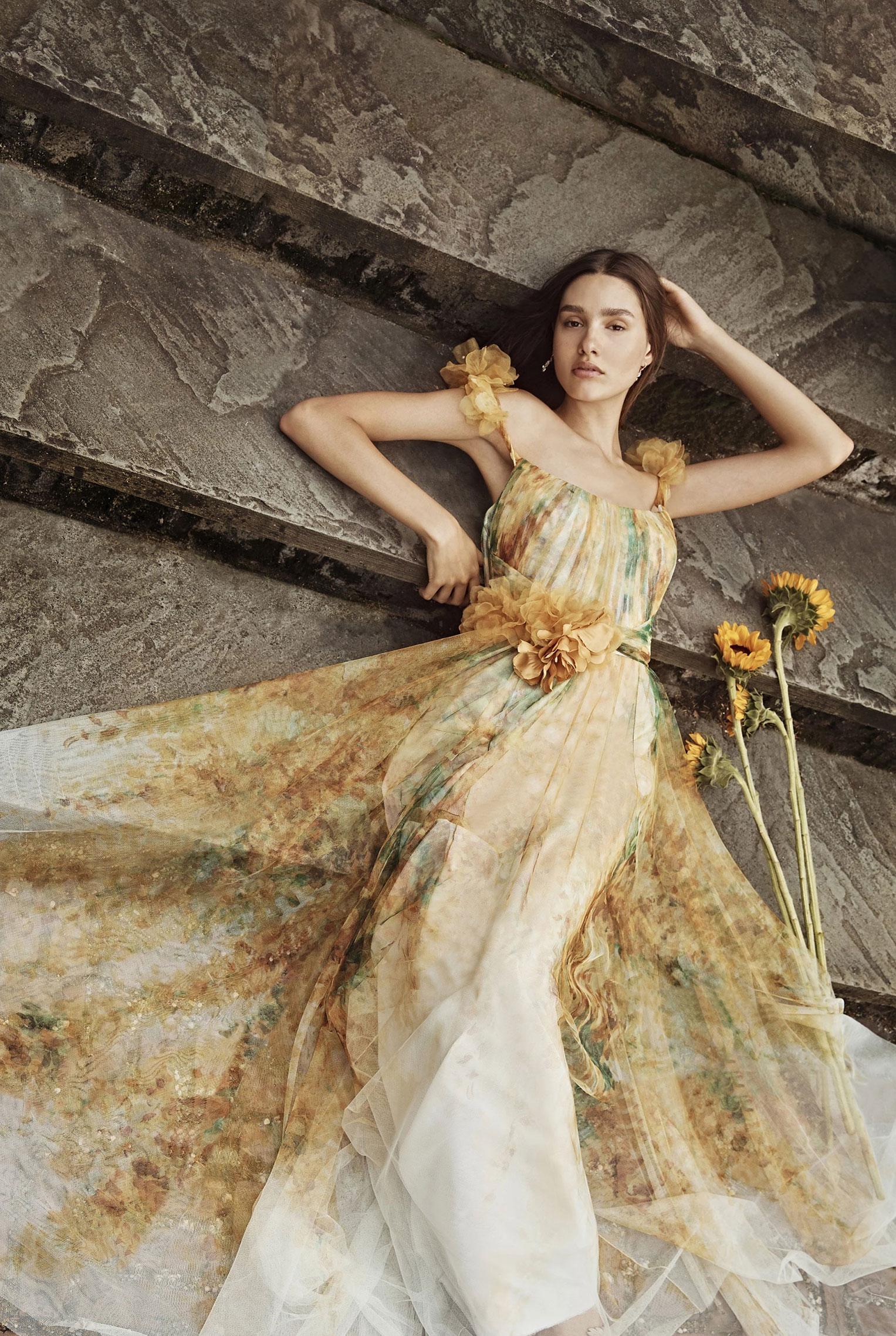 Коллекция модной одежды Marchesa, сезон весна-лето 2020 / фото 12