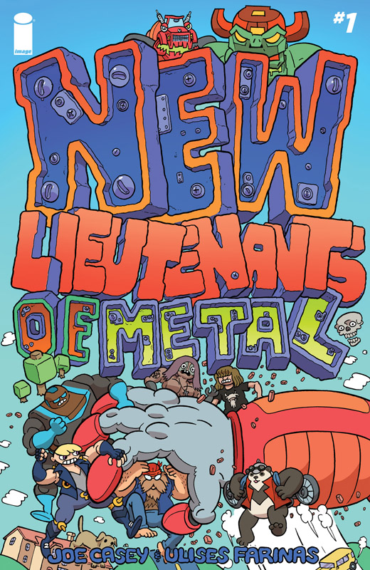 New Lieutenants of Metal #1-4 (2018)