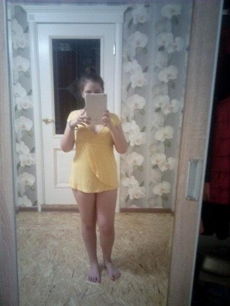 Hot girls taking nude selfies-2088