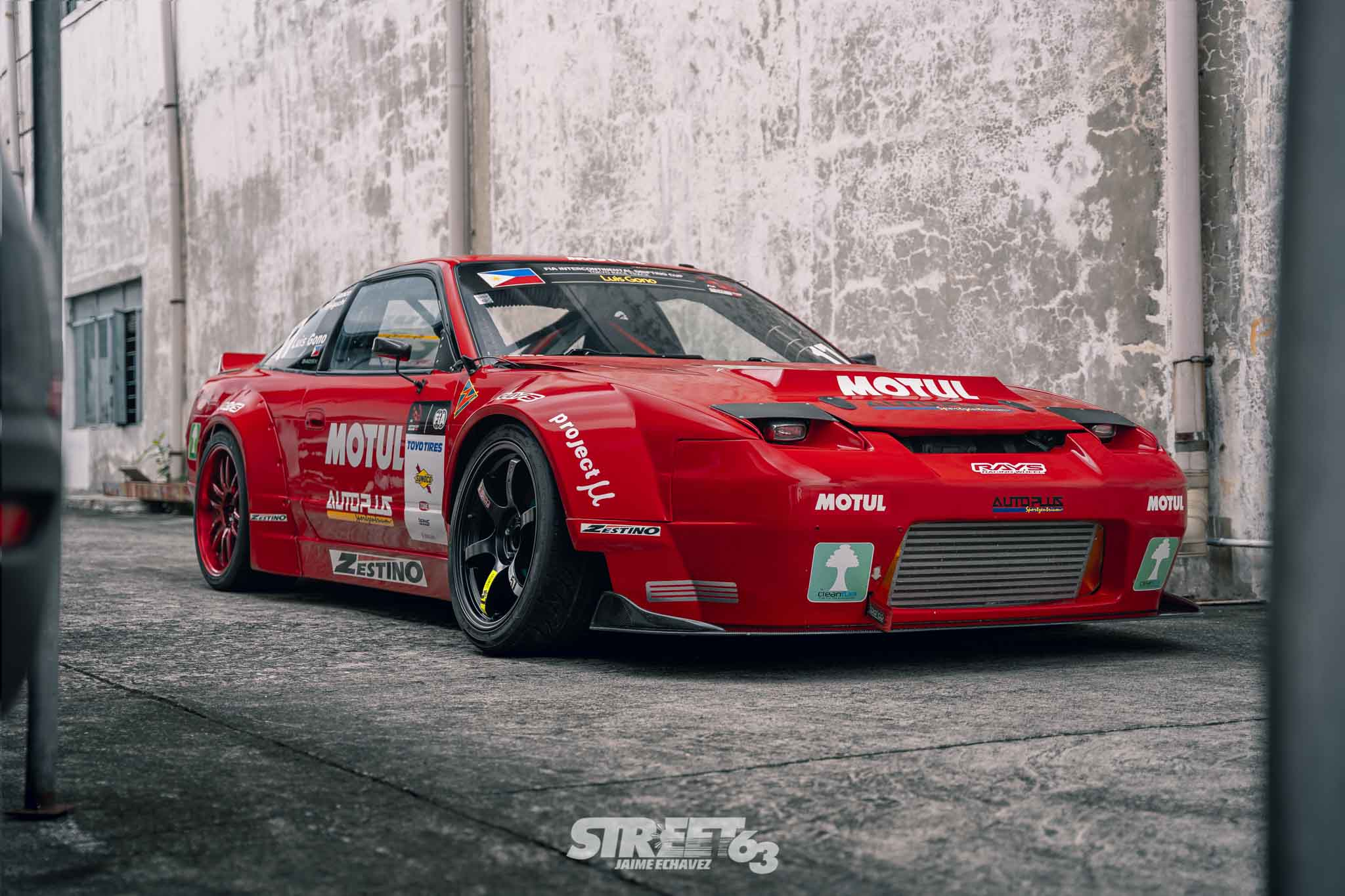 **Sideways Ace:** The Motul Autoplus 240SX