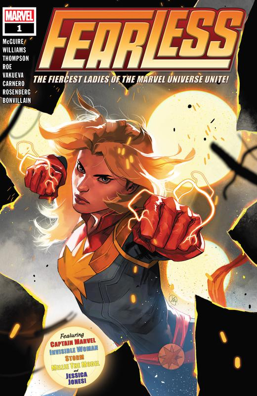 Fearless #1-4 (2019)