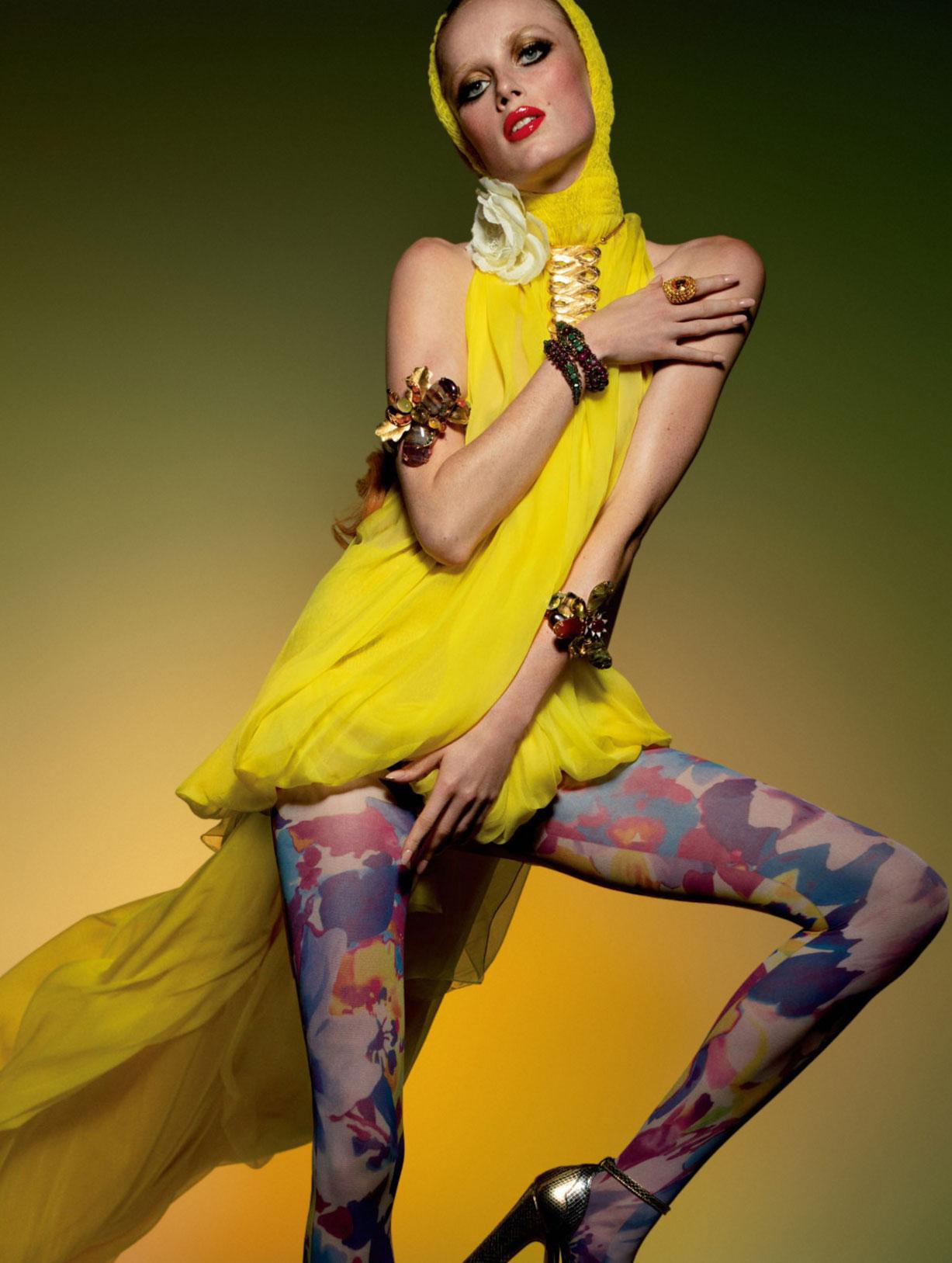 Vogue Paris May-June 2020 / Gigi Hadid, Bella Hadid, Rianne van Rompaey, Vaughan Ollier / фото 18