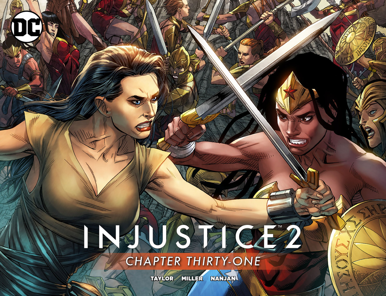 Injustice 2 #1-62 + ELeague + Annual (2017-2018)
