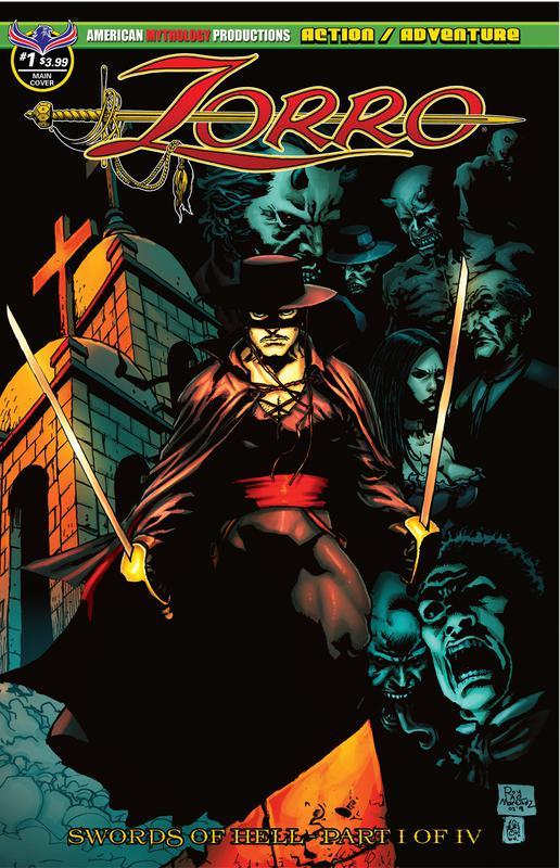 Zorro - Swords of Hell 001 (2018)