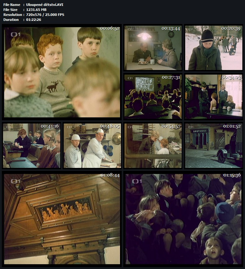 Uloupené dětství 1987