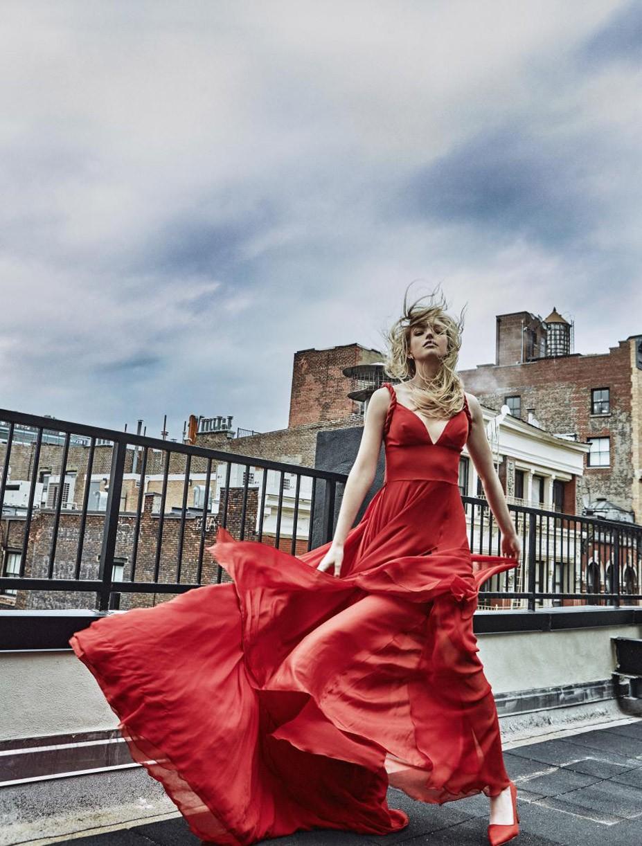 Niamh Adkins by Lena Melnik - L'Officiel Ukraine