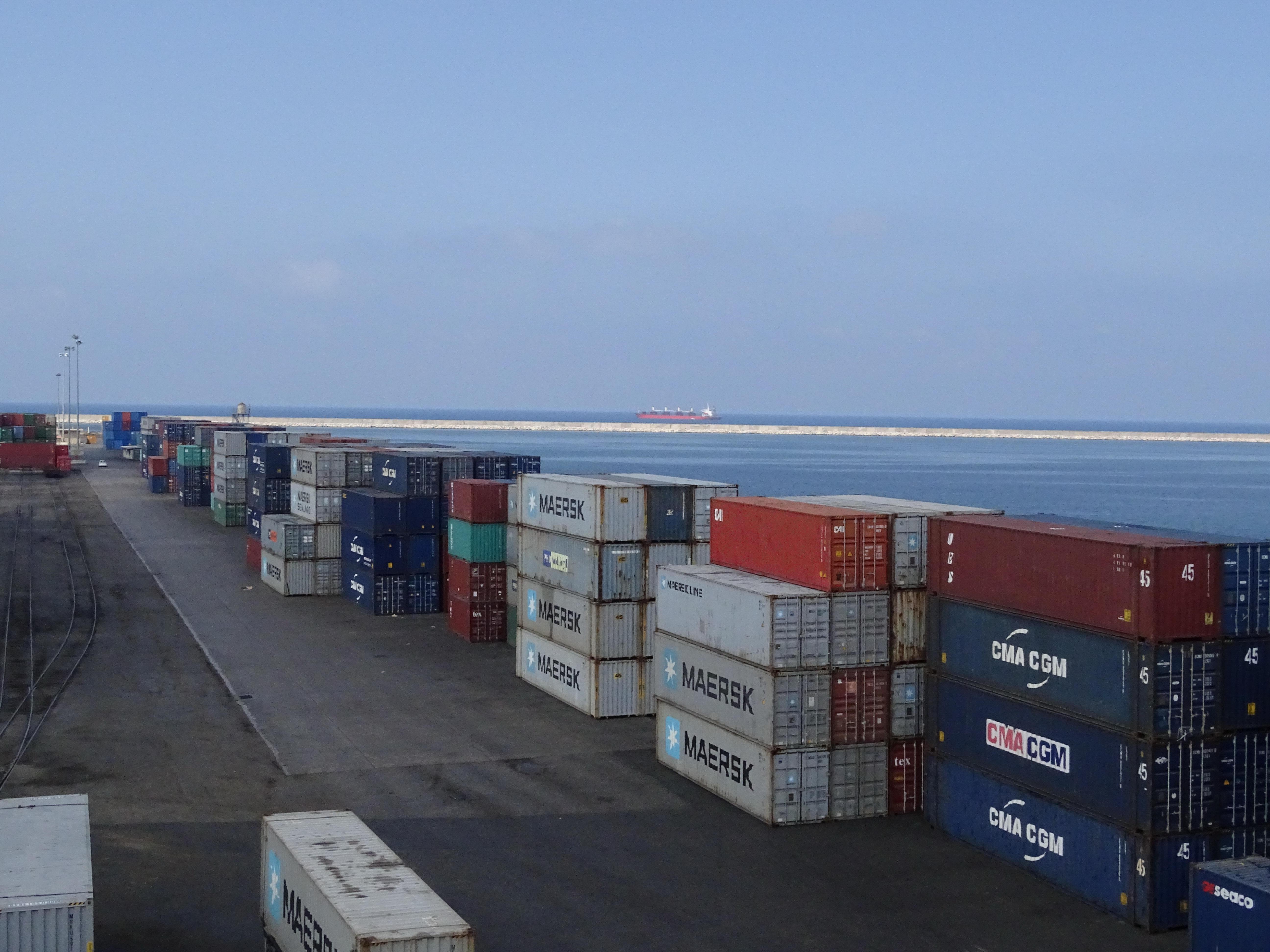 Lattakia International Container Terminals  Volume During2 2017