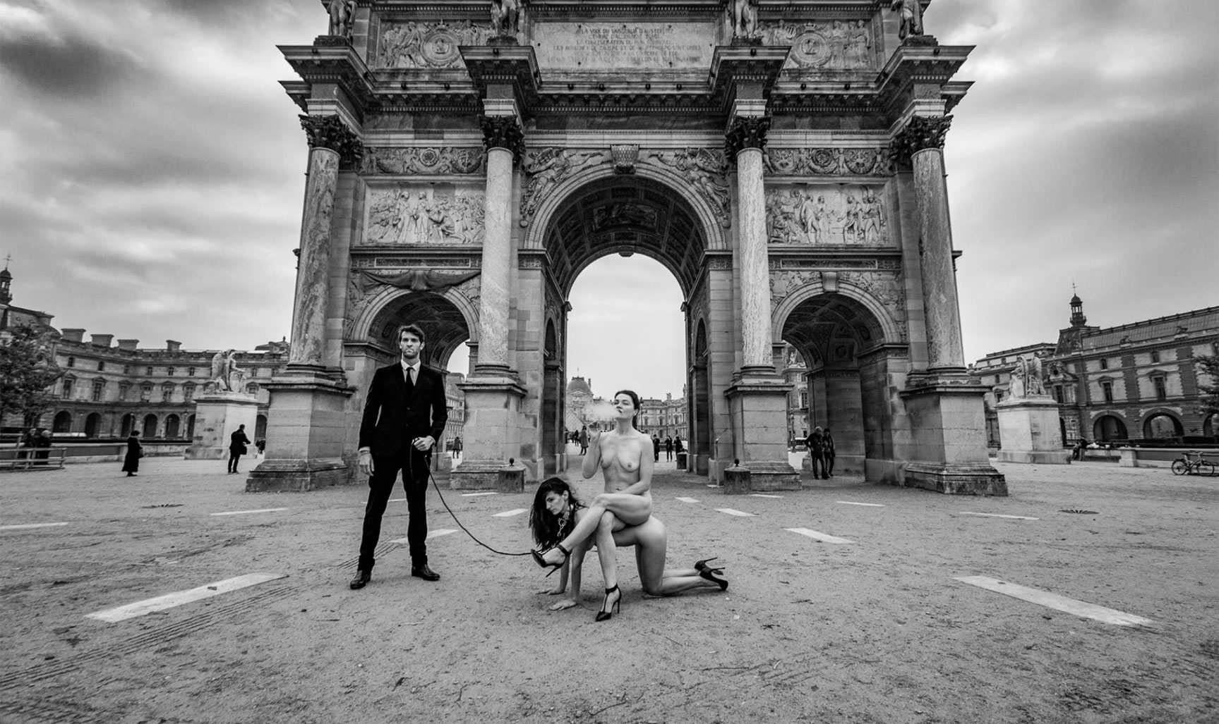 Ingvild Eiring, Emilie Kristen, Robert Maury by Gary Breckheimer
