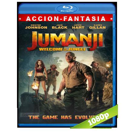 Jumanji En La Selva [m1080p][Trial Lat/Cas/Ing][Fantastico](2017)