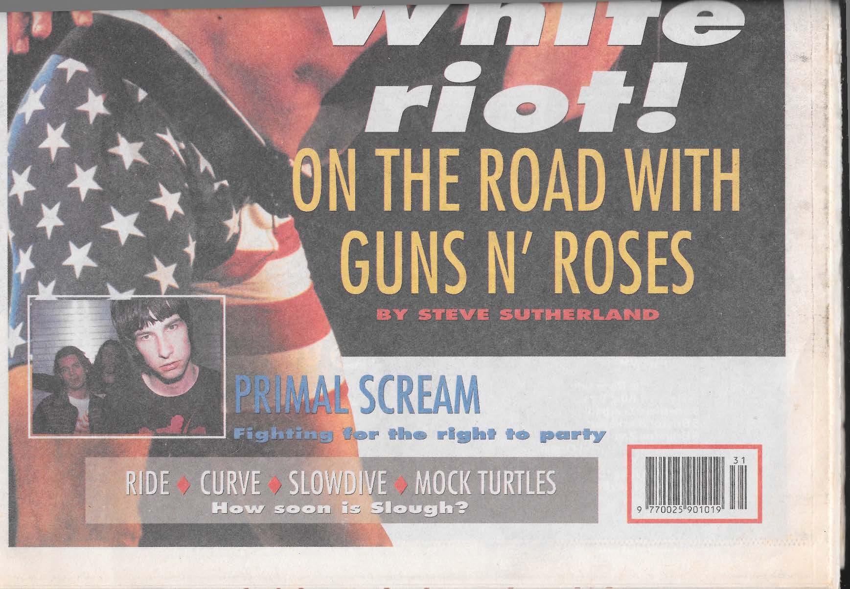 1991.08.03 - Melody Maker - White riot! (Slash) A1UW9XFs_o